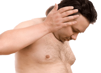 Gynecomastia surgery to reduce male breast or boobs